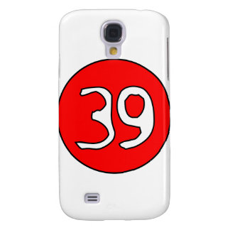 39er's Swirl clear Samsung Galaxy S4 Cover