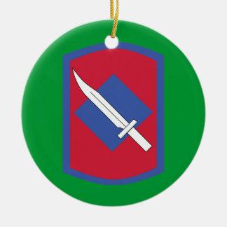 39th Infantry Brigade Combat Team Ceramic Ornament