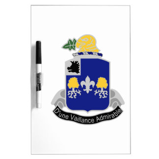 39th Infantry Regiment Dry Erase Board
