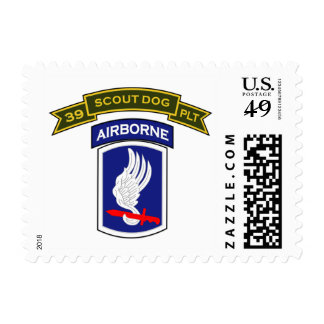 39th IPSD - 173d Airborne Bde (Sep) Stamp
