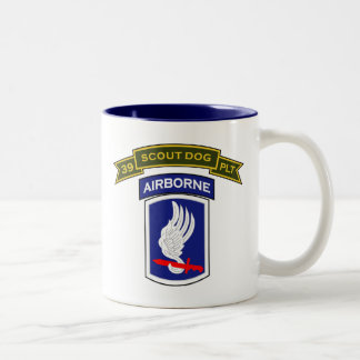 39th IPSD - 173d Airborne Bde (Sep) Two-Tone Coffee Mug