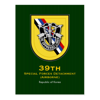 39th SFC-A 1 Postcard