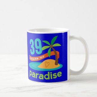 39th Wedding Anniversary Funny Gift For Her Coffee Mugs