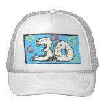 3 0 grande - trigésimos regalos de cumpleaños gorra