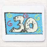 3 0 grande - trigésimos regalos de cumpleaños alfombrillas de ratones