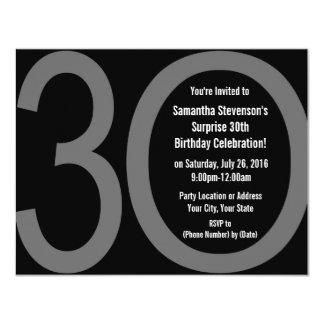 3-0 invitaciones grandes de la fiesta de invitación