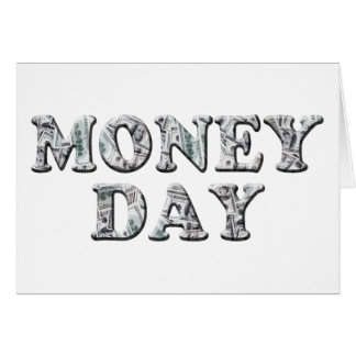 3-10 Money Day Stationery Note Card