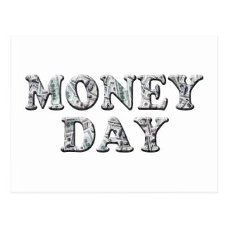 3-10 Money Day Postcard