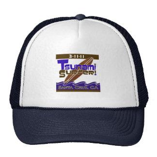 "3-11-11 ""Tsunami Surfer"" Trucker Hat"