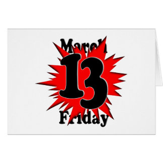 3-13 Friday the 13th Card