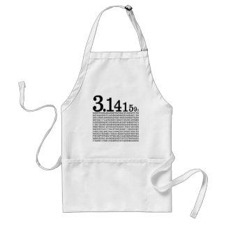 3,1415926 Pi Delantal