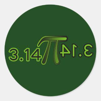 3.14 Backwards Spells Pie Stickers