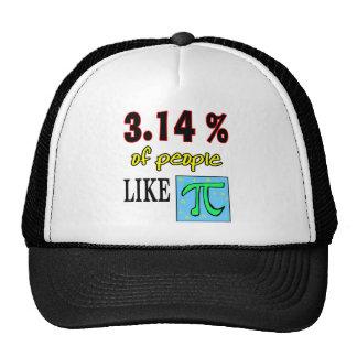 3.14likepi trucker hat