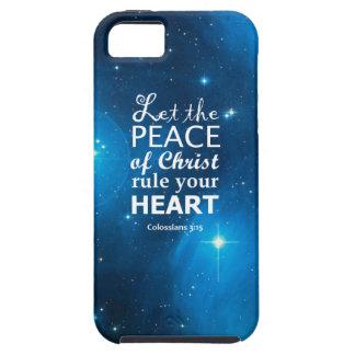 3 15 de Colossians iPhone 5 Carcasas