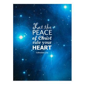 3:15 de Colossians Tarjetas Postales