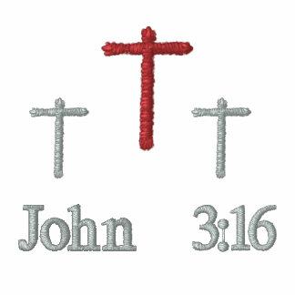 3:16 de Juan - camiseta bordada