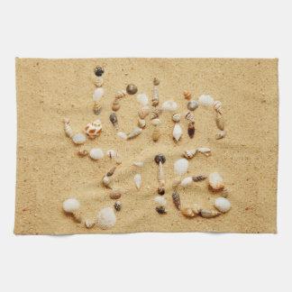 3:16 de Juan en Seashells Toallas De Mano