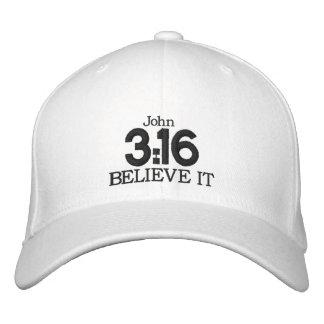 3:16 de JUAN - gorra de béisbol