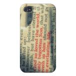 3:16 de Juan iPhone 4 Protectores
