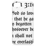 3:16 de Juan iPhone 5 Case-Mate Protectores