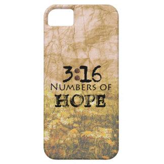 3 16 de Juan palabras de la esperanza iPhone 5 Protectores