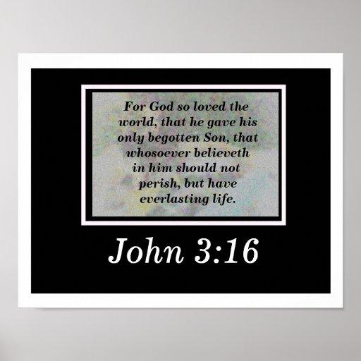 3:16 de Juan Póster