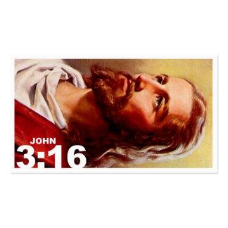 3:16 de Juan revisado Tarjetas De Visita