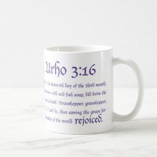 3:16 del St. Urho - taza