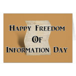 3-16 Freedom of Information Day Card