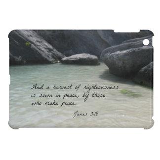 3:18 de James y una cosecha de la rectitud… iPad Mini Protectores