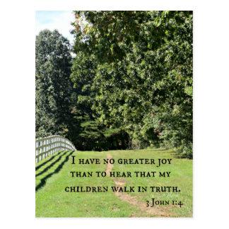 3 1:4 de Juan no tengo ninguna mayor alegría que Tarjetas Postales