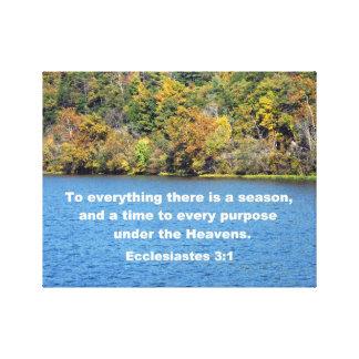 3:1 de Ecclesiastes Lona Estirada Galerias