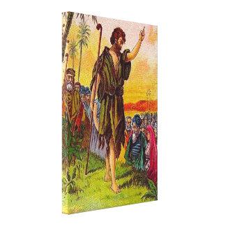 3:1 de Matthew - lona envuelta arrepentida 6 Impresiones En Lona Estiradas