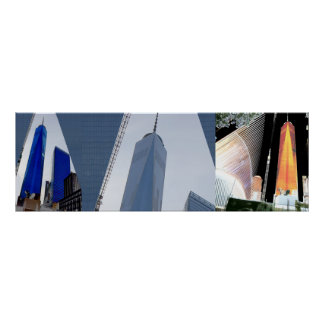3:1 Freedom Tower 3 shades n angles collection Poster