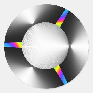 3-1color-ccw+color-w classic round sticker