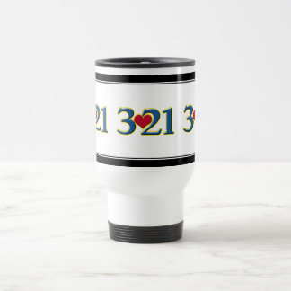 3-21 World Down Syndrome Day 15 Oz Stainless Steel Travel Mug