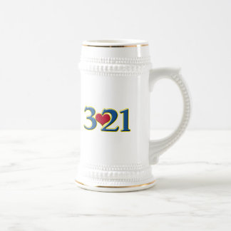 3-21 World Down Syndrome Day 18 Oz Beer Stein