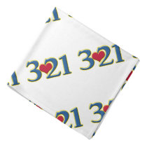 3-21 World Down Syndrome Day Bandana