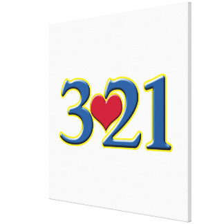 3-21 World Down Syndrome Day Stretched Canvas Prints