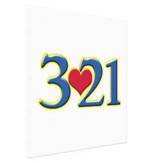 3-21 World Down Syndrome Day Canvas Prints