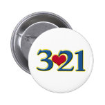 3-21 World Down Syndrome Day Pinback Button