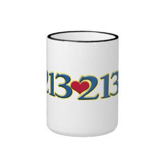 3-21 World Down Syndrome Day Ringer Coffee Mug