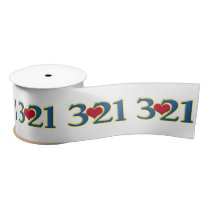 3-21 World Down Syndrome Day Satin Ribbon