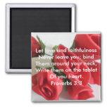 3:3 de los proverbios iman para frigorífico