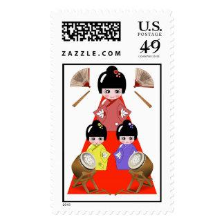 3-3 Hinamatsuri, festival japonés de la muñeca del Envio