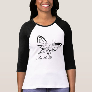 3/4 blouse A&J black Butterfly T-Shirt