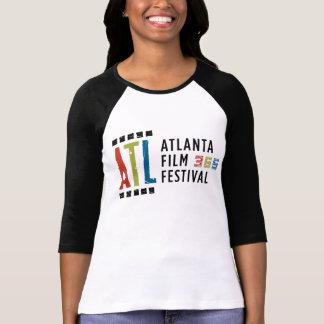 3/4 camiseta blanco y negro ATLFF365