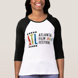 3/4 camiseta blanco y negro ATLFF365 Playera