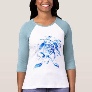 3/4 Hemd mit Rose T Shirts