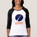 3/4 manga para mujer con el logotipo de Copenhague Camisas